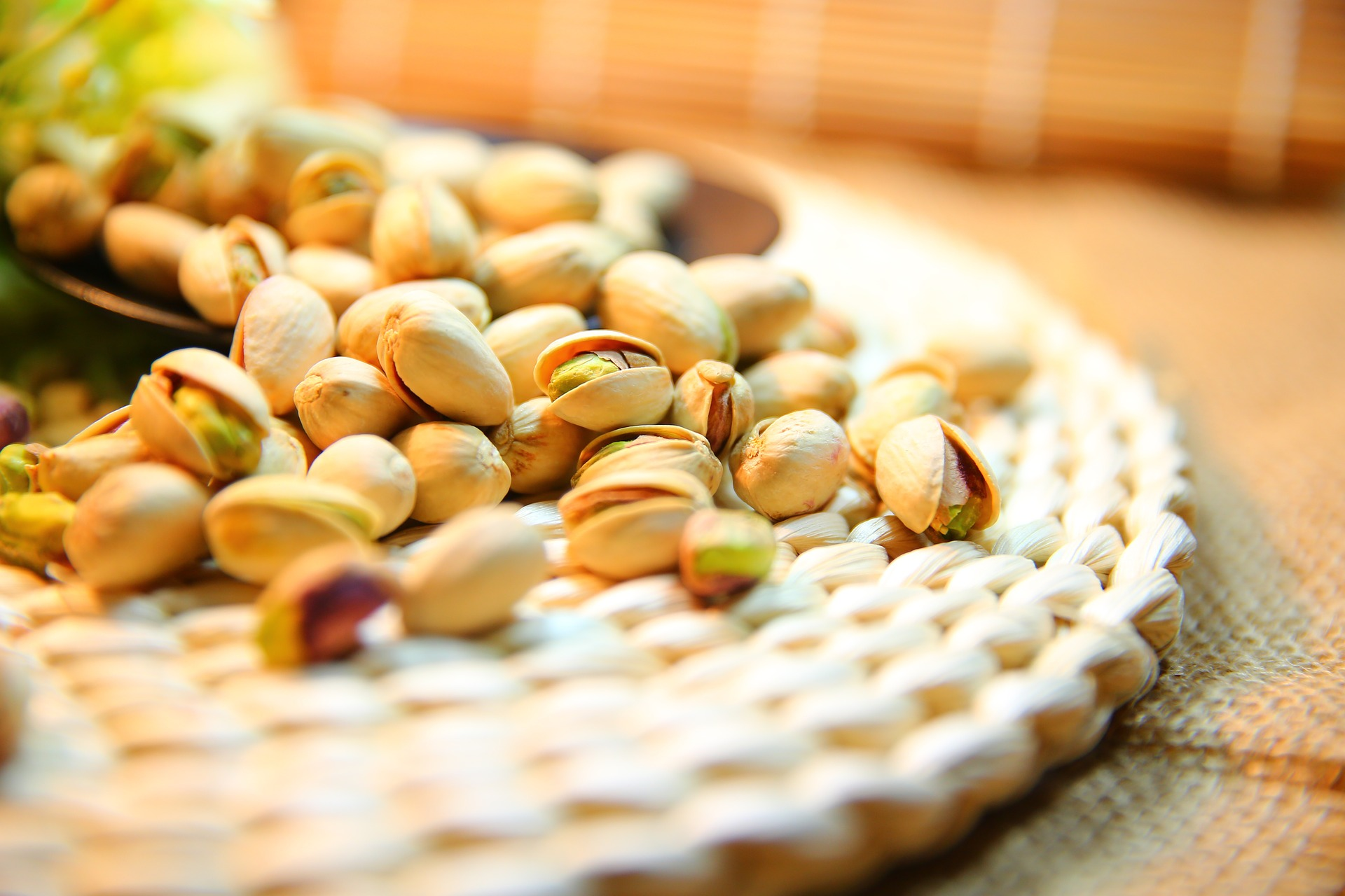 El consumo de pistachos y el estrés